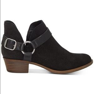 Lucky Brand Bernaeh Leather Bootie